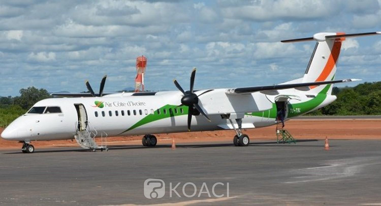 Côte d'Ivoire :  Air Côte d'Ivoire annonce la reprise de ses vols intérieurs à compter du 26 juin 2020 avec une modification de ses fréquences