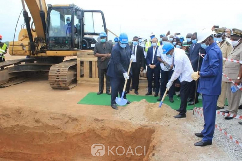 Côte d'Ivoire : Loka, lancement des travaux de l'AEP, le souhait du DR de la SODECI