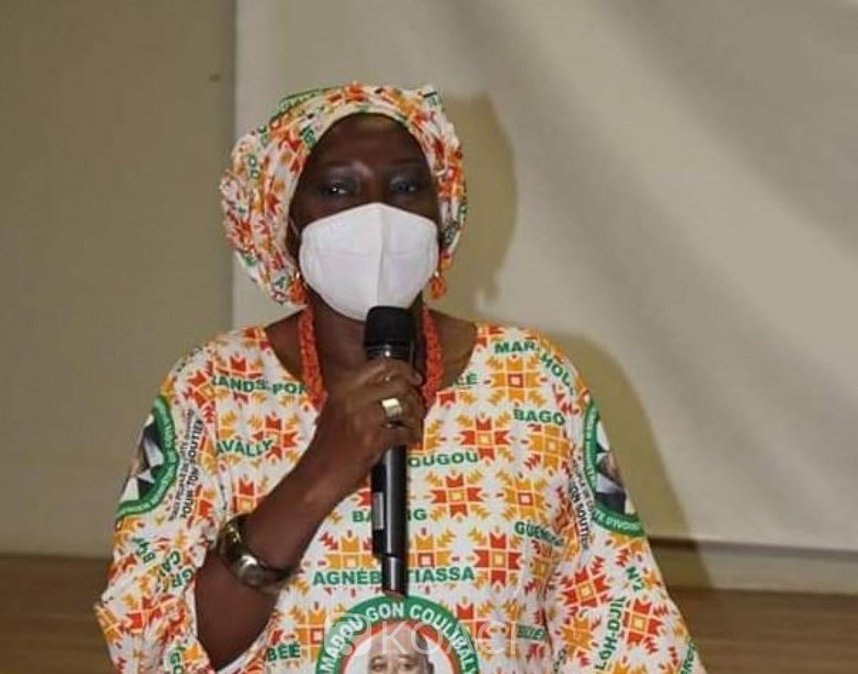 Côte d'Ivoire : Echanges téléphoniques à Bassam  entre Kandia et Gon pour rassurer les femmes du RHDP