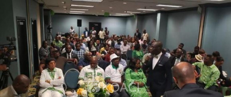 Côte d'Ivoire-USA : Le blocage  de l'enrôlement  à Atlanta pour panne  des tablettes dénoncé par l'opposition