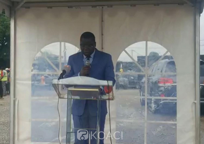 Côte d'Ivoire : 4è pont, lancement des travaux d'aménagement et de bitumage de la voirie du village Adjamé Extension