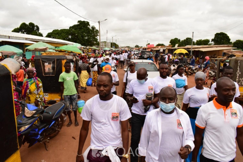 Côte d'Ivoire : 2020, depuis Boundiali, les jeunes du RHDP lance l'opération « tempête enrôlement »
