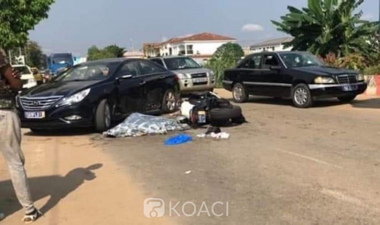 Côte d'Ivoire : Un motard meurt dans une collision avec une voiture à Cocody