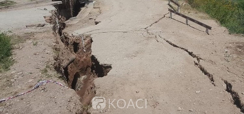Ghana :  Tremblements de terre partiels à Accra