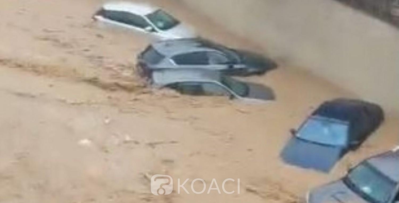 Côte d'Ivoire : Pluies diluviennes, des inondations signalées dans plusieurs  quartiers du District d'Abidjan