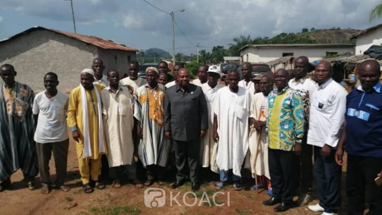 Côte d'Ivoire : Présidentielle octobre, à l'ouest Olivier Akoto appelle les populations à se faire enrôler pour la victoire du PDCI