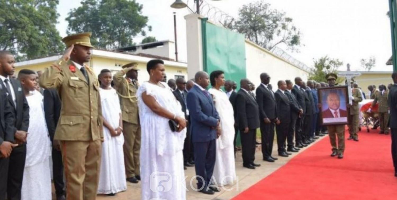 Burundi : Obsèques et inhumation de l'ex-Président Pierre Nkurunziza