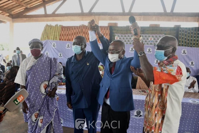 Côte d'Ivoire : Leadership à Bouaflé, Ouattara choisit un cadre du PDCI-RDA pour succéder à Charles Diby Koffi décédé le 7 décembre 2019