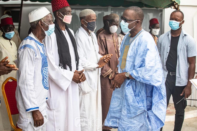 Côte d'Ivoire : Bouaké, pour s'assurer de la victoire de Gon, Amadou Koné comme un sprinter mobilise les communautés