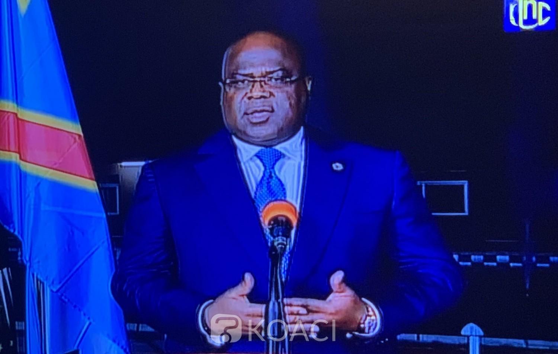 RDC : 60ème anniversaire , Félix Tshisekedi en profite pour mettre les point sur les «i»