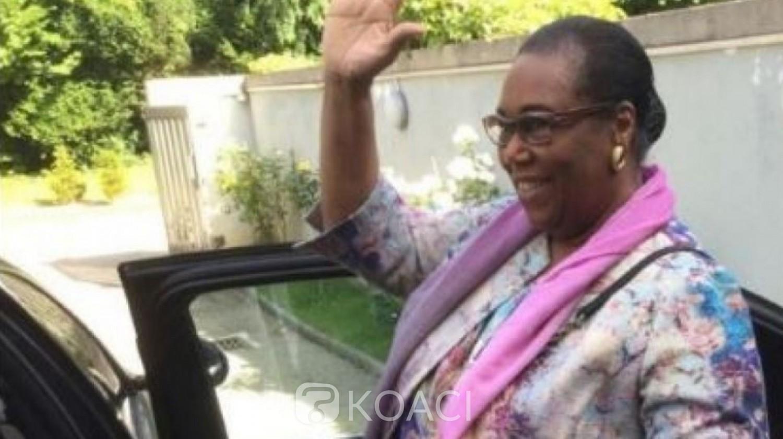 Côte d'Ivoire : Après s'être enrôlée à Genève, Marie Thérèse Houphouët Boigny :  « J'exhorte tous les ivoiriens, à faire preuve de civisme »