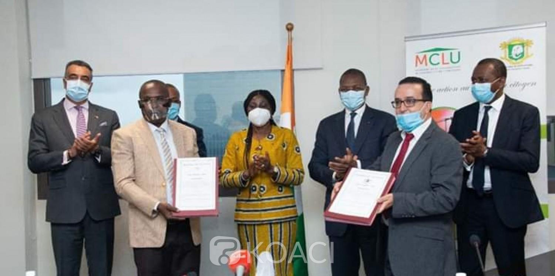 Côte d'Ivoire : 15.000 logements sociaux sans apport initial pour les enseignants, la convention signée entre Bruno Koné et Kandia