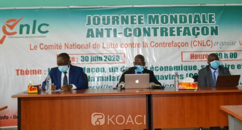 Côte d'Ivoire : Lutte contre la contrefaçon, le CNLC présente des chiffres qui inquiètent et interpelle