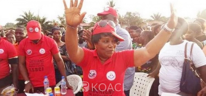 Liberia :  Mme Jamima Wolokollie exclue du parti CDC au pouvoir après son limogeage
