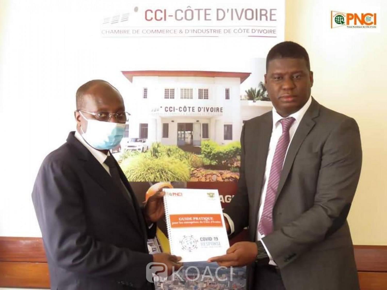 Côte d'Ivoire : Les acteurs de la presse en ligne mettent à disposition de la chambre du commerce un guide pratique