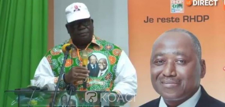 Côte d'Ivoire : Depuis Yamoussoukro, des militants du RHDP issus de l'UDPCI soutiennent la candidature de Gon et promettent faire revenir Mabri