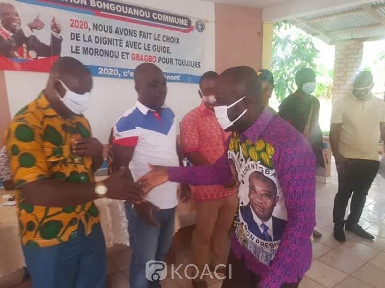 Côte d'Ivoire : Présidentielle octobre, depuis Bongouanou, Justin Koua en campagne pour Gbagbo « l'heure est venue pour la victoire du FPI »
