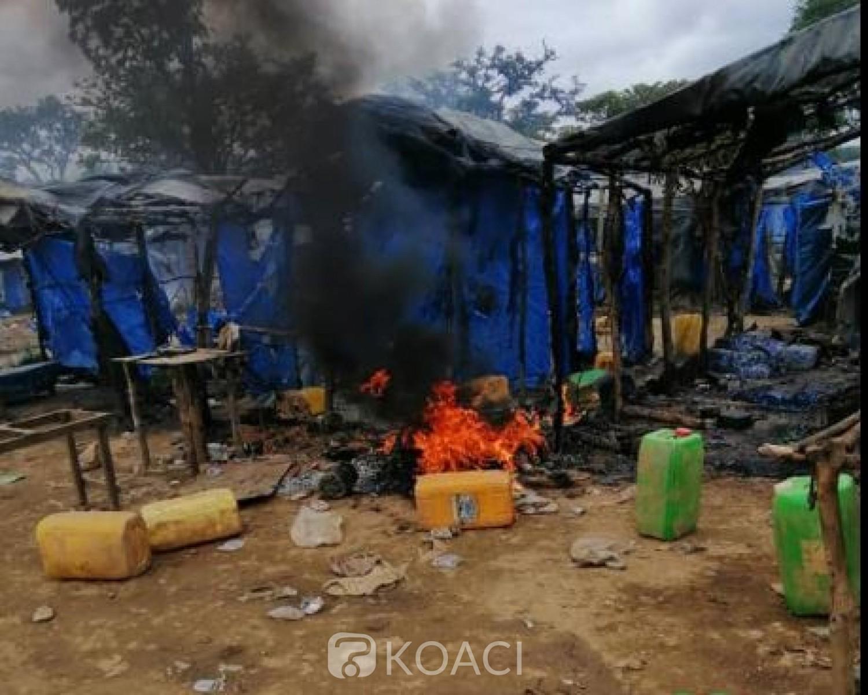 Côte d'Ivoire : Plusieurs sites d'orpaillage clandestins démantelés au centre et au nord du pays