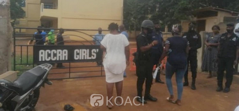 Ghana :  Parents calmés après la détection des cas de Covid-19 dans un lycée à Accra