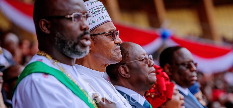 Liberia-Nigeria : Condoléances et ce que Weah et Buhari retiennent  du PM ivoirien Gon Coulibaly