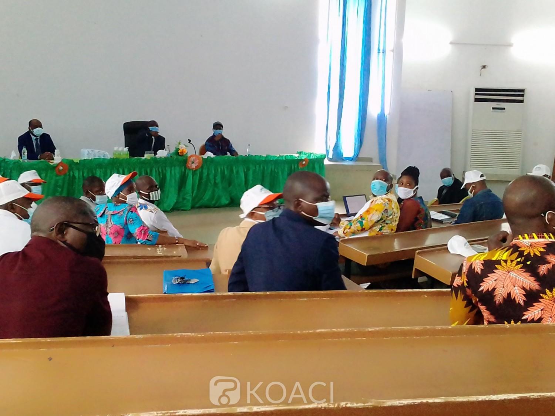 Côte d'Ivoire : Bouaké, riposte contre la Covid-19 à l'UAO, une brigade à la manœuvre