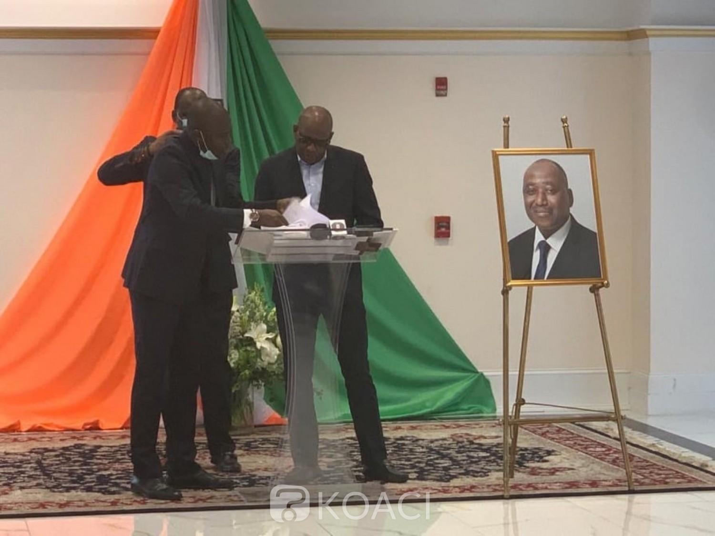 Côte d'Ivoire : Décès de Gon, L'Ambassade de Côte d'Ivoire aux Etats-Unis rend hommage à «l'homme d'écoute»