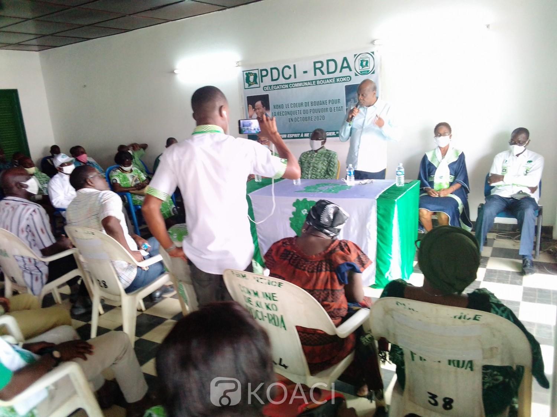 Côte d'Ivoire : Bouaké, nommé Vice-président, Kouadio Kouadio Nestor sans détour: « la région de Gbêkê c'est pour le PDCI, tout le reste n'est que bavardage »