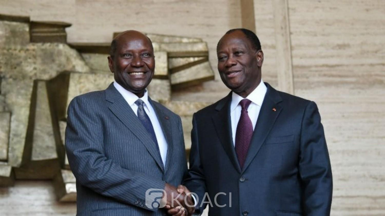 Côte d'Ivoire :   Avant l'annonce officielle de sa démission, Duncan et Ouattara ont eu un dernier entretien ce matin