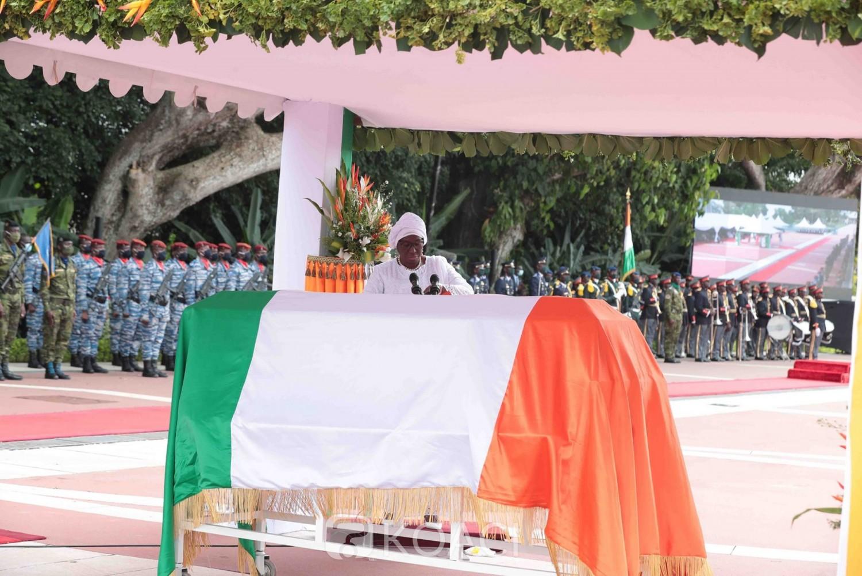 Côte d'Ivoire : Hommage national à Amadou Gon, l'origine de l'appellation du « Lion » révélée par Kandia Camara