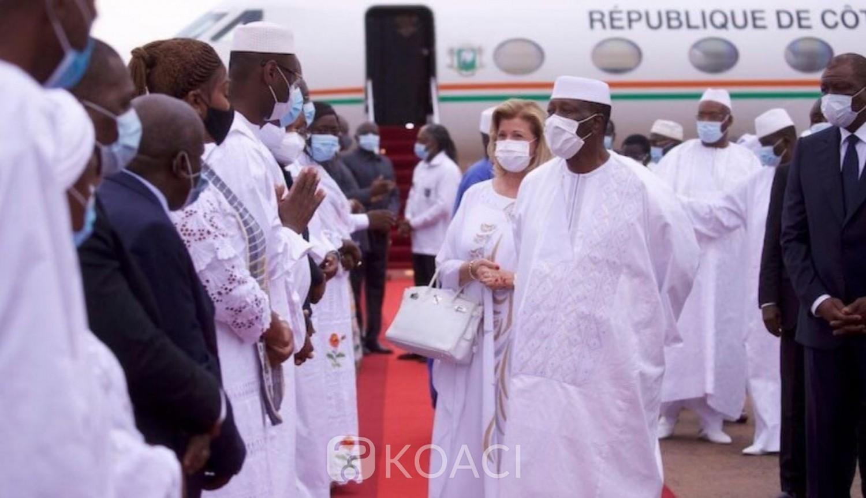 Côte d'Ivoire : Korhogo, Ouattara dans la capitale du Poro pour dire un dernier Adieu à son ancien Premier ministre