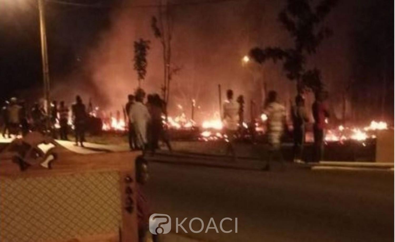 Côte d'Ivoire : Grand Bassam, un nouvel incendie signalé  au centre artisanal