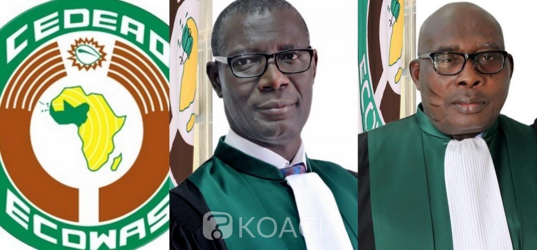 Cedeao :  Cour de justice, le ghanéen Asante et l'ivoirien Ouattara réélus président et vice-président