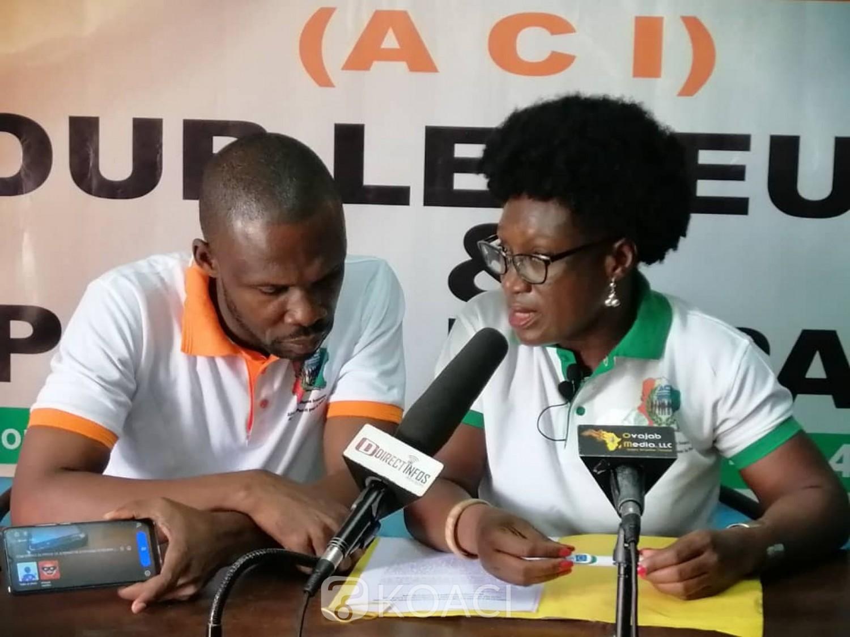 Côte d'Ivoire : Revendications pour la tenue d'élections apaisées, l'ACI appelle à un sit-in à la place de la République si rien est fait d'ici le 6 août