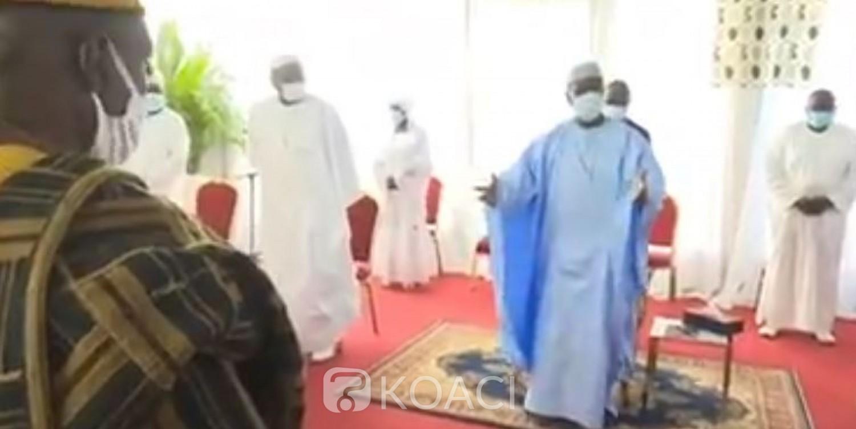 Côte d'Ivoire : Présidentielle Octobre, des chefs coutumiers du Tonpki plaident pour un 3ème mandat de Ouattara
