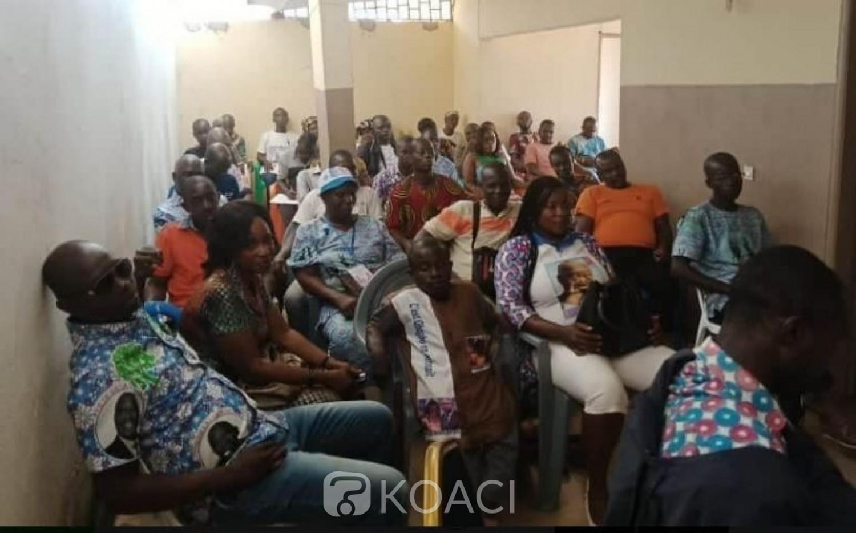 Côte d'Ivoire : Pour des militants FPI de Yakassé- Attobrou, l'acquittement de Gbagbo à la CPI lui permet d'être candidat à la présidentielle
