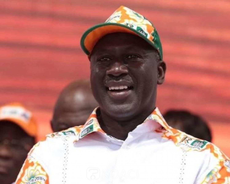 Côte d'Ivoire : Candidature de Ouattara après le décès de Gon, Bictogo entame demain des rencontres avec les structures et les élus du RHDP