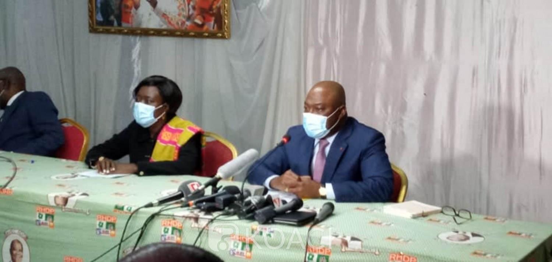 Côte d'Ivoire : Présidentielle 2020, les élus et cadres du Tchologo, Poro et la Bagoué demandent à Ouattara de reconsidérer sa position afin d'être candidat