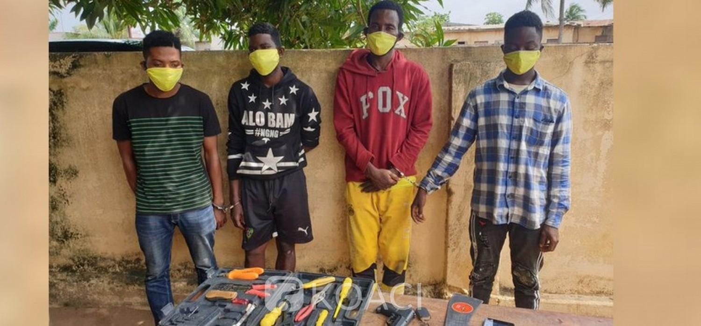 Togo :  Deux réseaux braqueurs démantelés par la gendarmerie