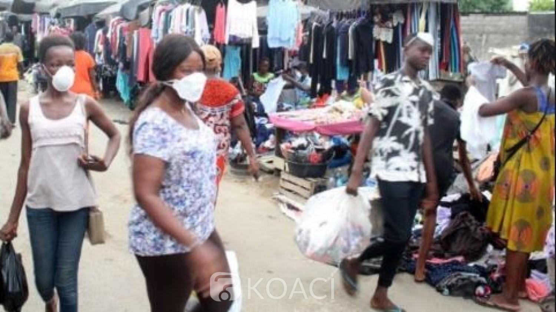 Côte d'Ivoire : Des sanctions annoncées en cas de non-respect des mesures barrières et du port du masque dans les lieux publics