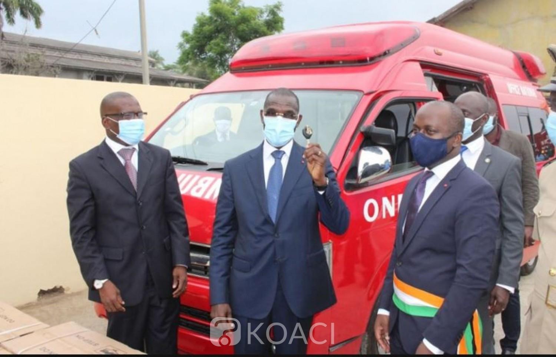 Côte d'Ivoire : Sécurité civile, deux engins roulants pour le centre de secours d'urgence rénové de Grand-Bassam