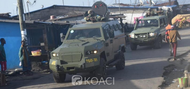 Liberia :  L'Armée rappelée en casernes