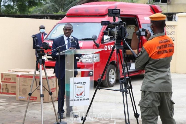 Côte d'Ivoire : Protection Civile, le General Vagondo exhorte les agents à ne pas céder à la manipulation