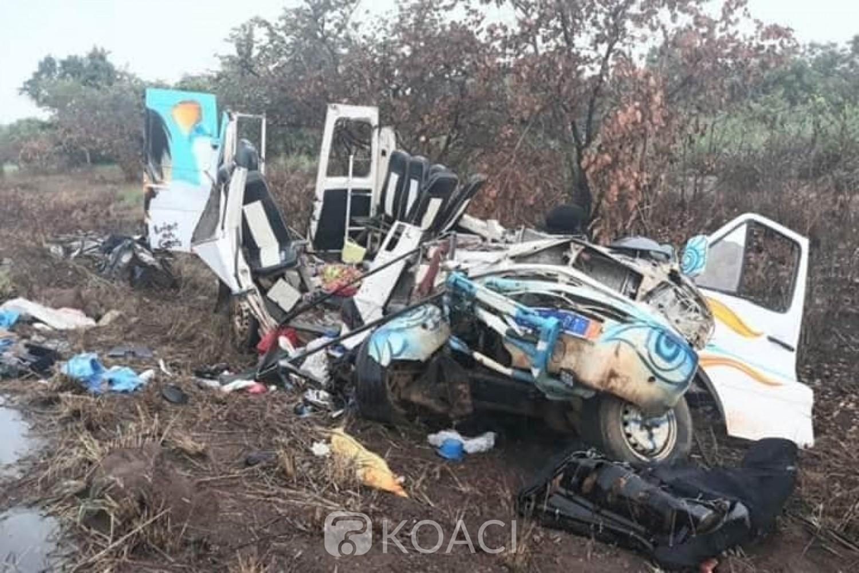 Côte d'Ivoire : Drame, à Niakara,15 personnes perdent la vie dans un accident de circulation