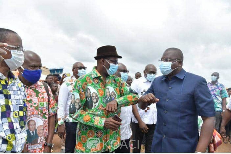 Côte d'Ivoire : Depuis Toumodi, Amédé Kouakou demande pardon à Ouattara pour qu'il puisse faire violence sur lui-même pour être candidat