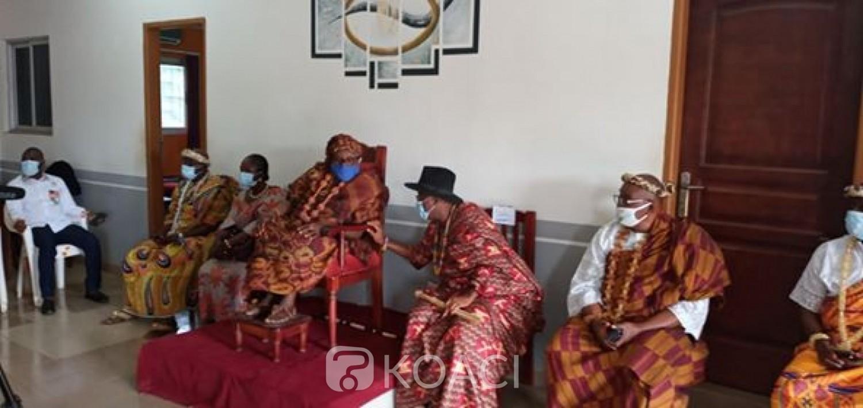 Côte d'Ivoire : Aliko Tegbo, chef des chefs du Loh-djiboua: « Pourquoi nous voulons la candidature de Ouattara »