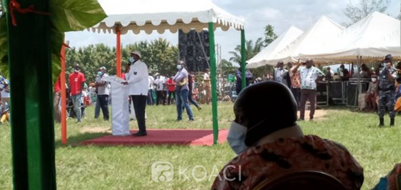 Côte d'Ivoire : Appels à la candidature de Ouattara, depuis le Loh-djiboua, Danho Paulin rassure