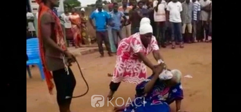 Ghana :  Cris de justice de Rawlings pour une vieille femme lynchée, la police en alerte