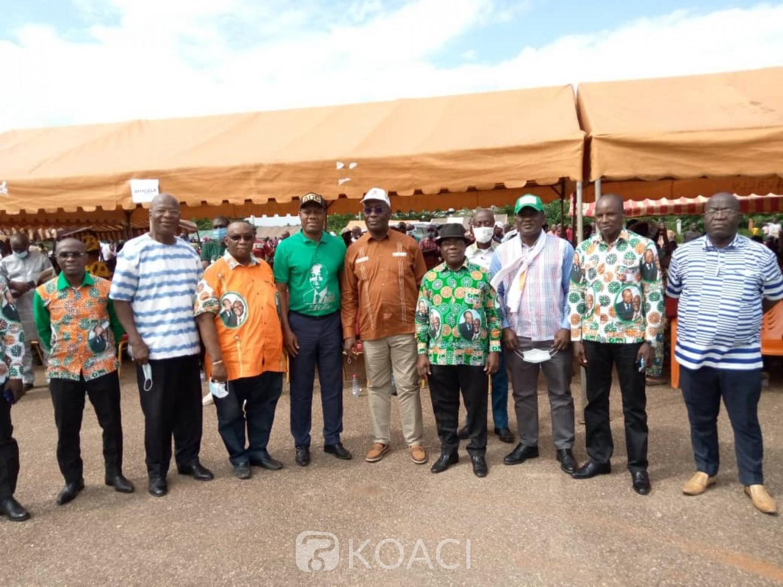 Côte d'Ivoire : Présidentielle 2020, les militants RHDP du Cavally soutiennent un 3ème mandat de Ouattara