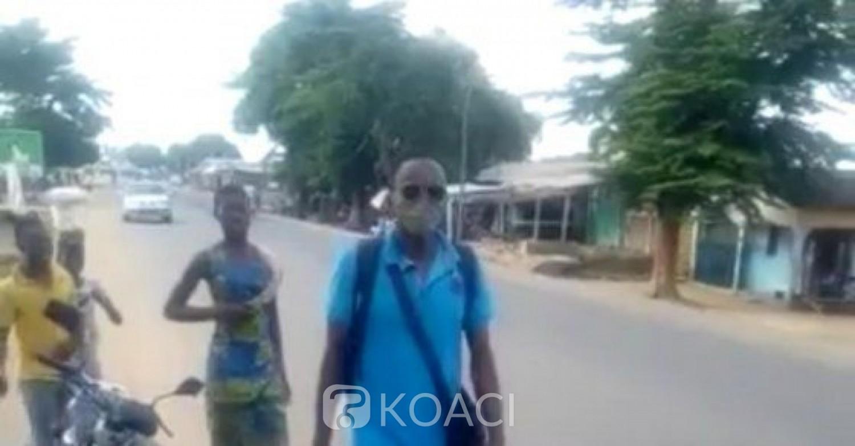 Bénin : Il parcourt des Km à pied pour exiger un deuxième mandat à Patrice Talon