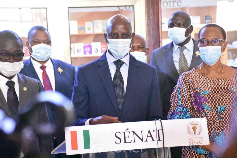 Côte d'Ivoire : Les sénateurs adoptent le FONSTI, le ministre Adama Diawara annonce qu'il bénéficiera de 5 milliards de FCFA de la Suisse mis à la disposition du PASRES